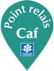 Logo point relais Caf