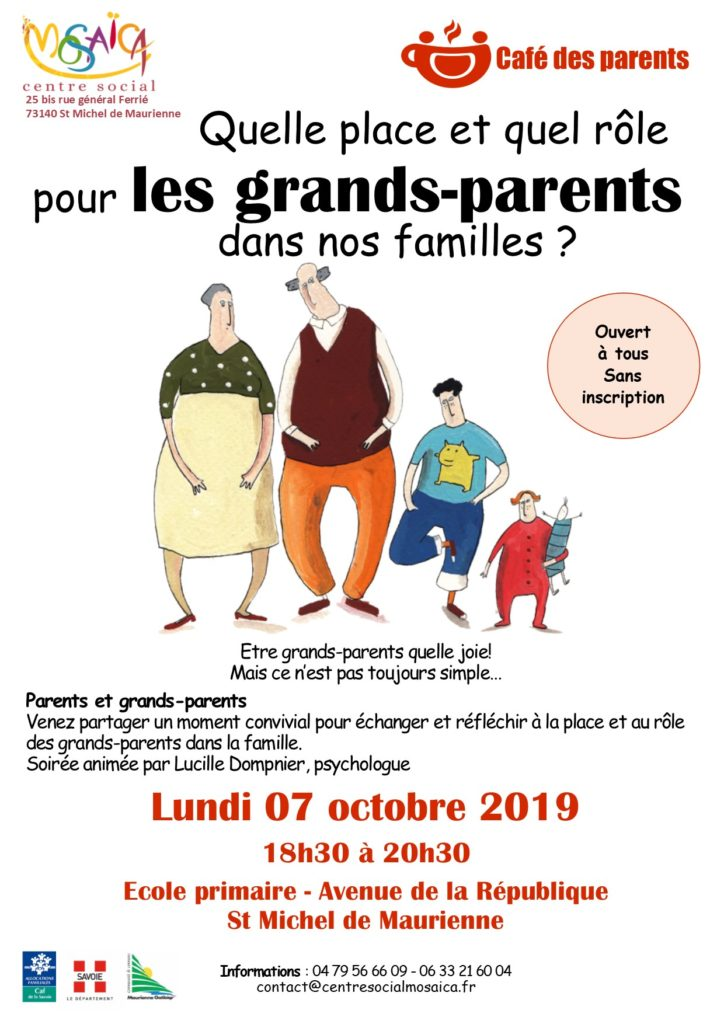 affiche grands parents