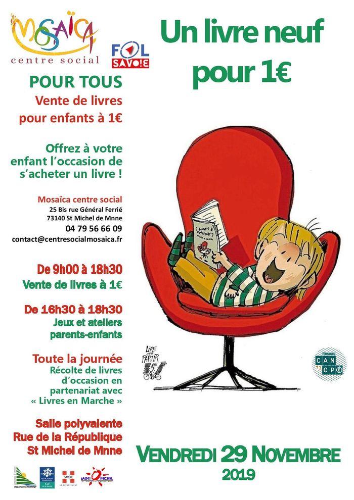 affiche livre a 1€