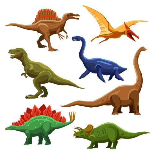 image dinosaures