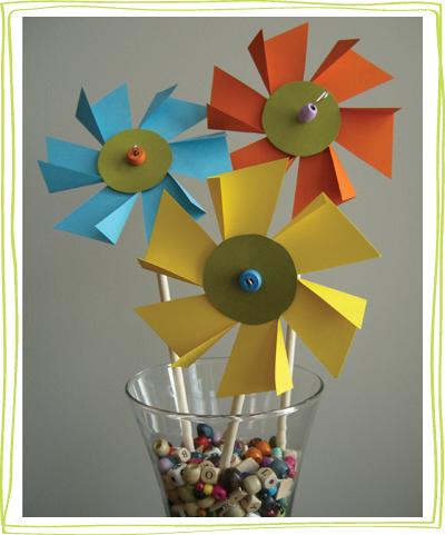 moulin a vent fleurs