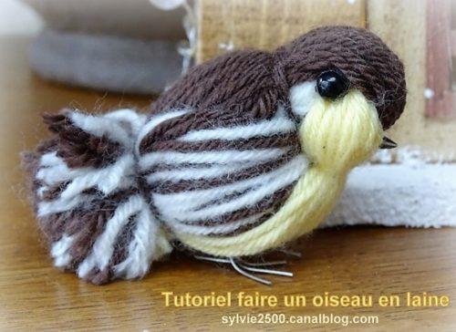 oiseau laine